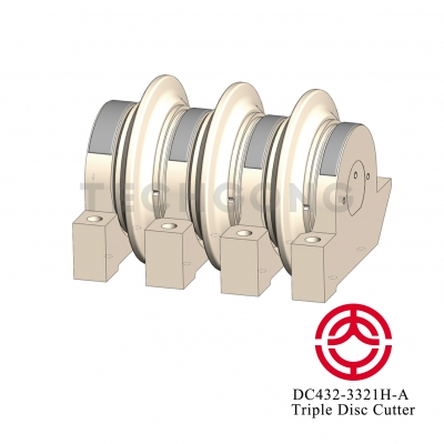 DC432-3321H-A Triple Disc Cutter